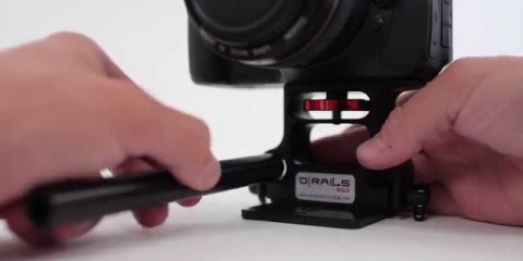 D|Rails DSLR 15mm Rail Support System