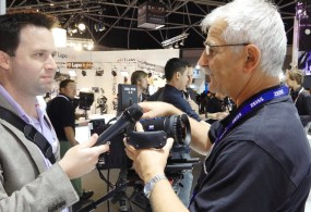 IBC 2014: Zeiss Prototype Servo for Compact Zooms from AbelCine