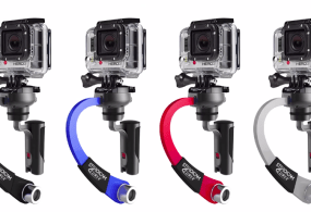 Steadicam Curve Features Video for GoPro Cameras Including The Hero 4 from Tiffen