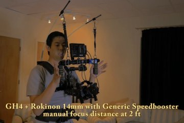Atlas Camera Support System: 2-rod System With Came-TV 7800 Brushless Gimbal from Johnny Wu