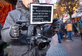 SteadyHand Brushless Gimbal Camera Rigs Showreel 2014… & a Prompter Brushless Gimbal