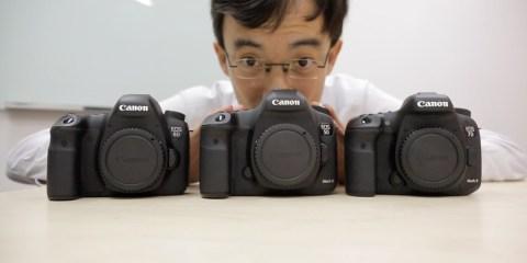 Canon 7D Mark II vs 5D Mark III vs 6D from DigitalRev TV
