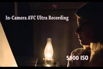 Panasonic VariCam 35 at 5000 ISO via Cine- School