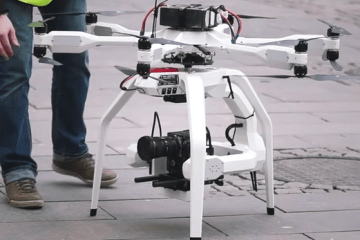 Black Armored Drones