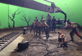 """Dracula Untold"" Behind the Scenes Filmed with the Graphlite from Pacific Motion Control"