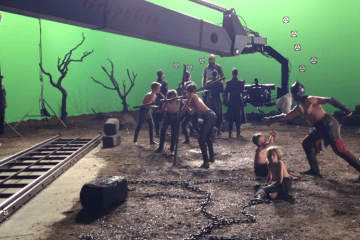Dracula Untold - Behind the Scenes - Filmed with the Graphlite