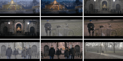 Panasonic VariCam Graded Ungraded Stills