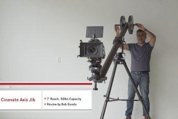 Cinevate Axis Jib Review from Bob Gundu
