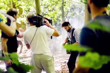 """Passenger """"Scare Away The Dark"""" Video Behind The Scenes from Birch"""