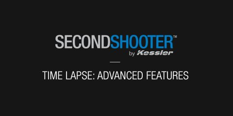 Second Shooter Time lapse Advanced Features from Kessler Crane