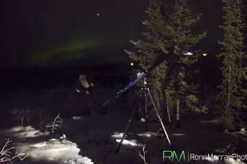 Setting up the eMotimo TB3 Black for a 3-axis Northern Lights Timelapse from Ronn Murray