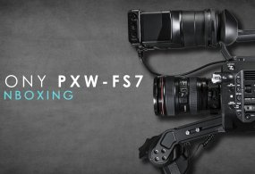 Sony FS7 Unboxing from Creative Grit
