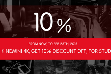 Kinefinity discount for Students