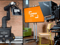 Automated Studio System With Live Presenter Tracking at BVE2015 by Mark Roberts Motion Control