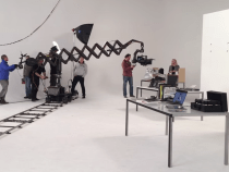 Scissor Mini Telescopic Camera Crane from Filmdynamics.nl