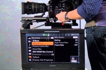 Sony PXW FS7 Camera Manual Tutorial from A&S Broadcast
