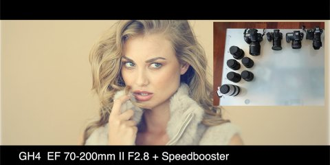 5D MK III RAW Vs GH4 4K Vs a7S with Metabones Speedbooster / Smart Adaptor