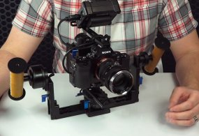 Helix Jr. – Setting up SONY a7S with a small monitor from Letus Direct