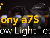 Low Light Test for Sony a7S Camera from BananaMana Films