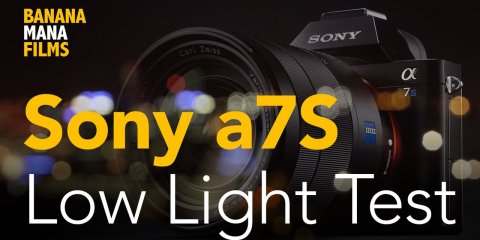 Low Light Test for Sony a7S from BananaMana Films