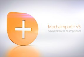 MochaImport+ V5 Simplifies The Workflow Between Mocha and After Effects