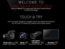 Canon Puts Its Latest 4K Digital Imaging Solutions On Display At Cine Gear Expo 2015