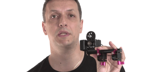 DIY Electronic Follow Focus Unit from Enrico Arrigoni