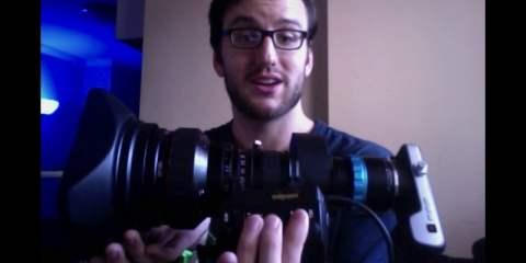 B4 Lens Adapter Test on a Blackmagic Pocket Cinema Camera from Nathan DeWild
