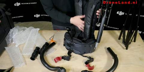 Exoskeleton Unboxing from VideoDrone