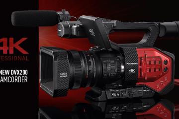 Panasonic DVX200 4K Camera