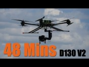 Foxtech D130 V2 Long Flight Time Test Without Payload