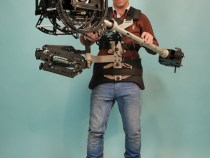 8-axis Hybrid Camera Stabilizers With Electronic Horizon & Electronic Horizon & Pitch