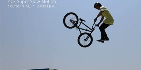 Sony RX100 IV & RX10 II Camera – Super Slow Motion- BMX Tailwhip Tap