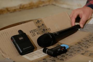 AVX Video Sound Recording Ep1 - Setup Sennheiser