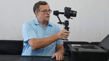 Came Single Gimbal Video 1: Unboxing and Overview from Dieter Knüttel