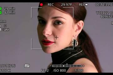 Canon EOS C300 MKII Camera Focus Functions