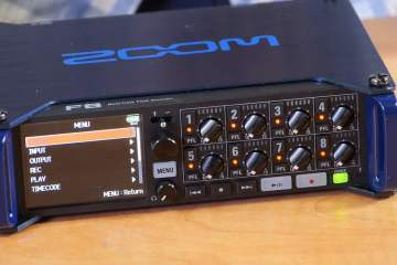 First Look: Zoom F8 from Gotham Sound