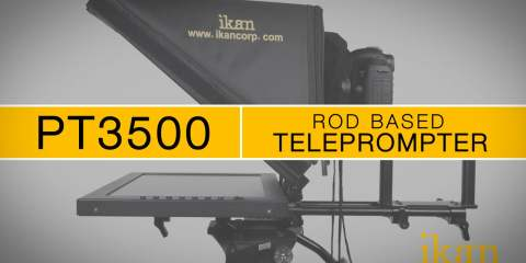 Ikan PT3500 Rod Based Teleprompter