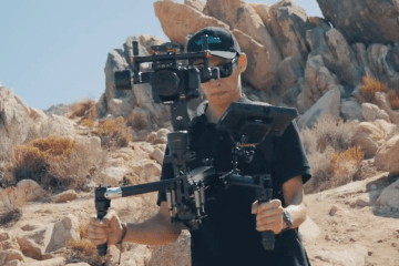 Jockey Motion 4-Axis Gimbal & 4-Axis for Ronin Ronin-M Turbo Ace