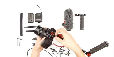 Mini-Rig With Audio Gear from HONDO Garage