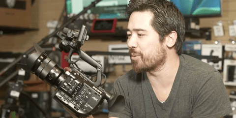 Sony PXW-FS5 Hands-On Preview