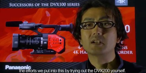 Interview With Panasonic AG-DVX200 Camera Developers