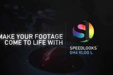 Panasonic GH4 V Log L a LookLabs Before and After With SpeedLooks