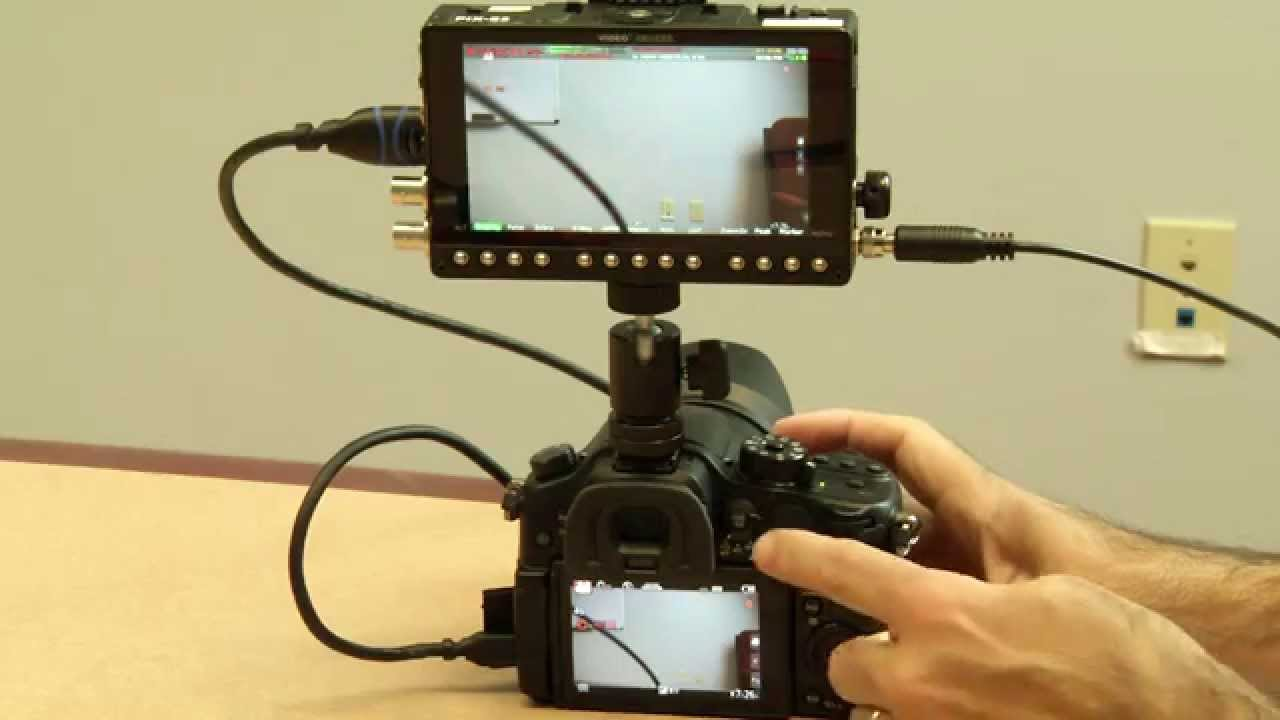 how to connect gh4 to istopmotion