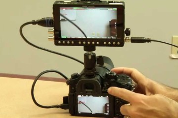Record Trigger Setup for the Panasonic GH4 and Video Devices PIX-E5 Recorder Monitor