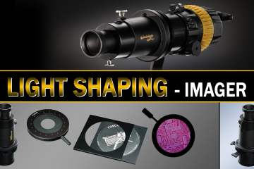 Light & Shadow Shaping With Imagers / Projection Attachments from Dedo