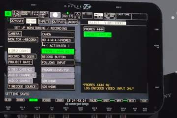 3 Videos Showing Off The Odyssey7Q+ Monitor Recorder Updates