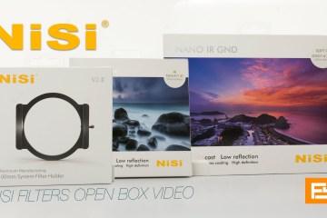 NISI Filters Open Box from Frank Suero
