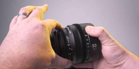 SLR Magic 50mm APO HyperPrime PL Mount Cinema Lens Unboxing