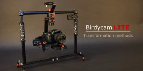 BirdyCam LITE Transforms Into Unique Inverted Orientation